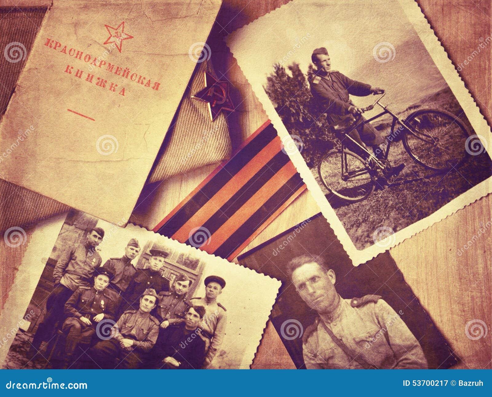 Vintage photos of World War II