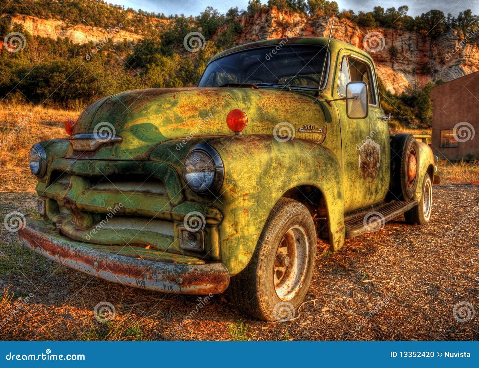 Vintage Pick Up Truck Stock Photo - Image: 13352420
