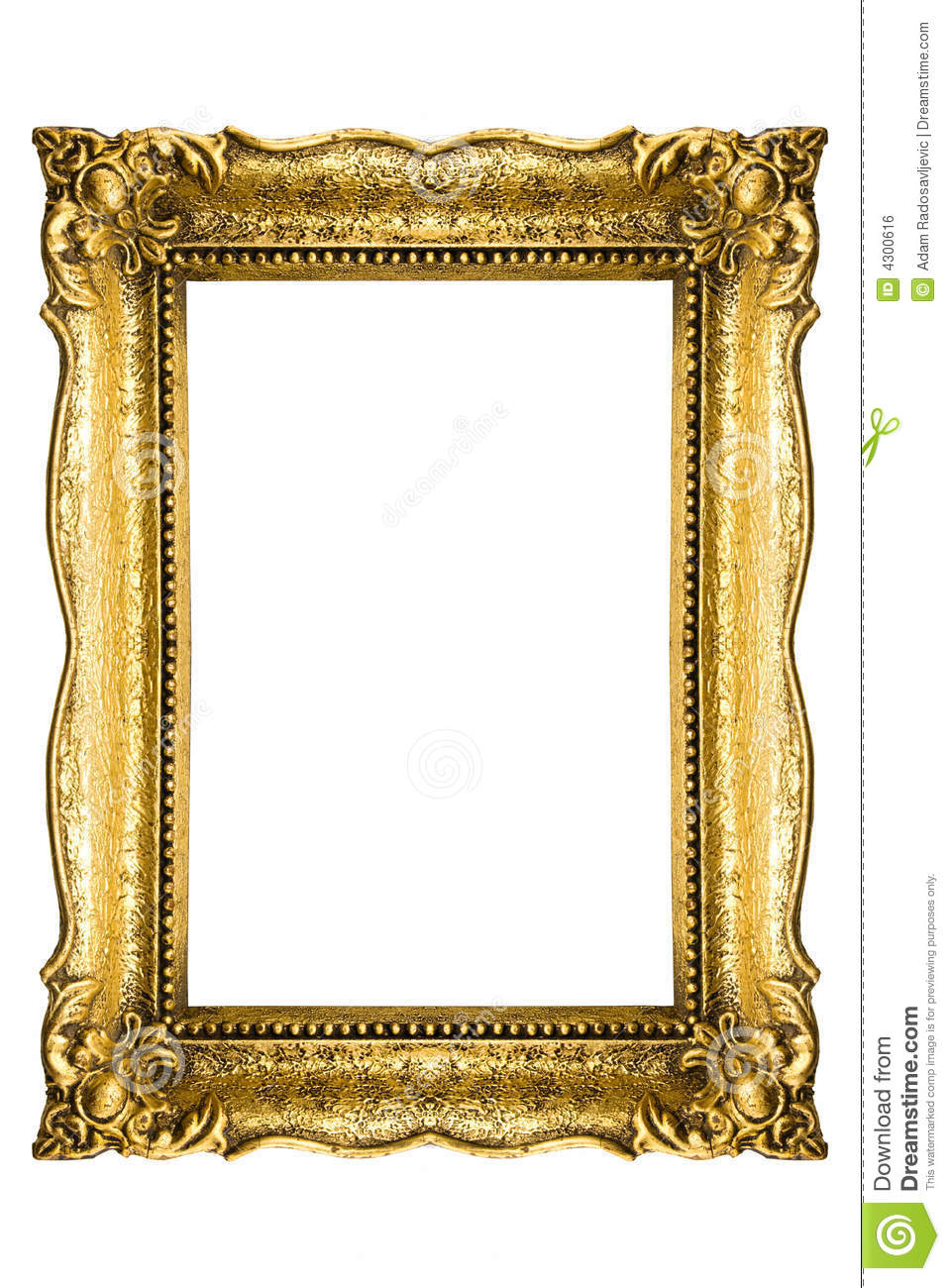Vintage picture frame royalty free stock image image for How to make vintage frames