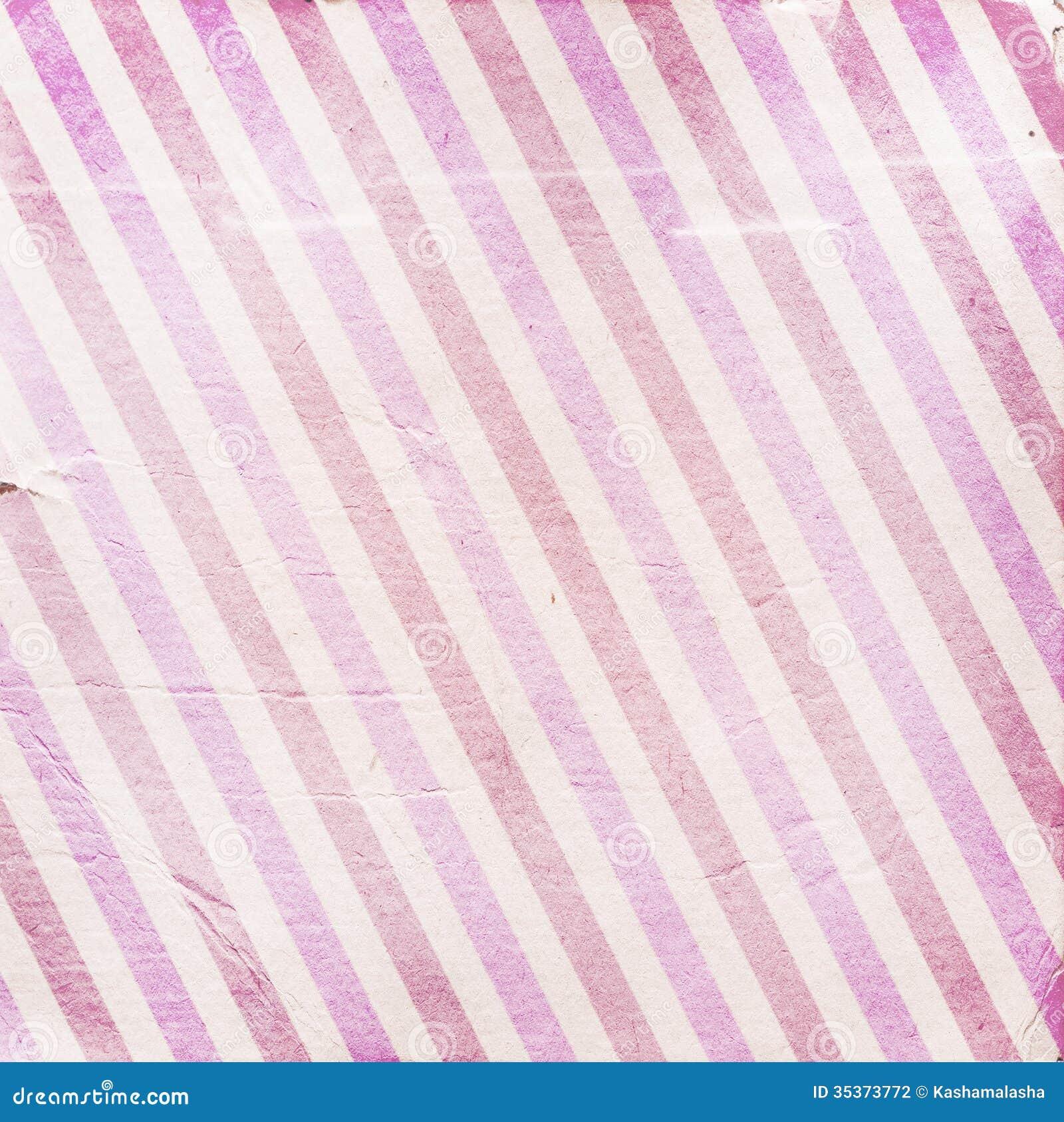 Pink Striped Wallpaper Diagonal