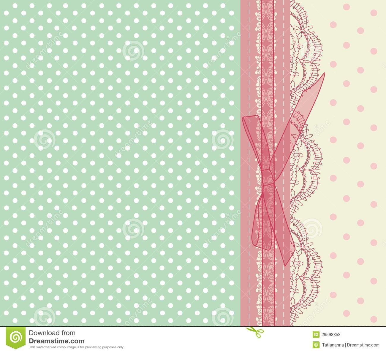 Vintage Pink Wedding Card Vector Royalty Free Stock Photos - Image ...