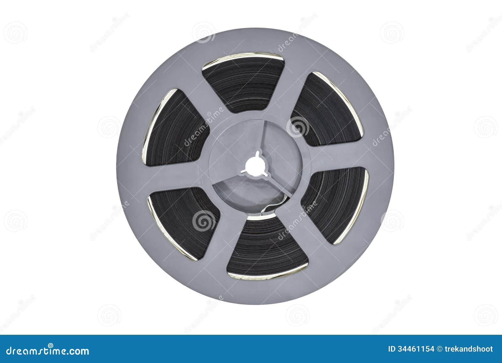 Download Vintage Plastic Super 8 Film Reel Stock Photo - Image of roll, antique: 34461154