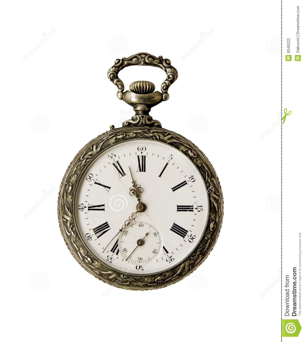Vintage Pocket Watch Stock Photography - Image: 9045222