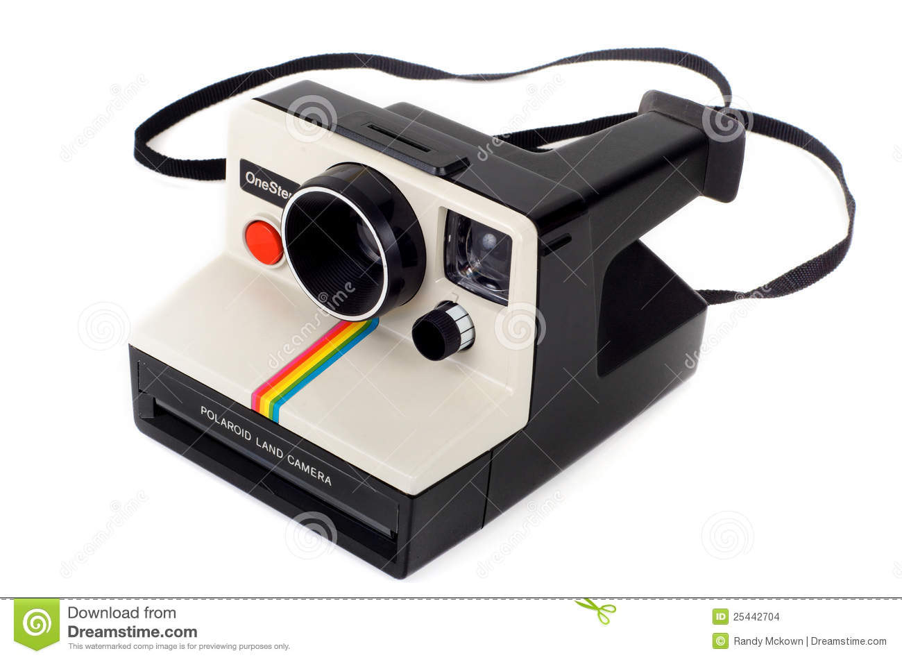 Vintage Polaroid Land Camera OneStep Editorial Stock Image - Image ...
