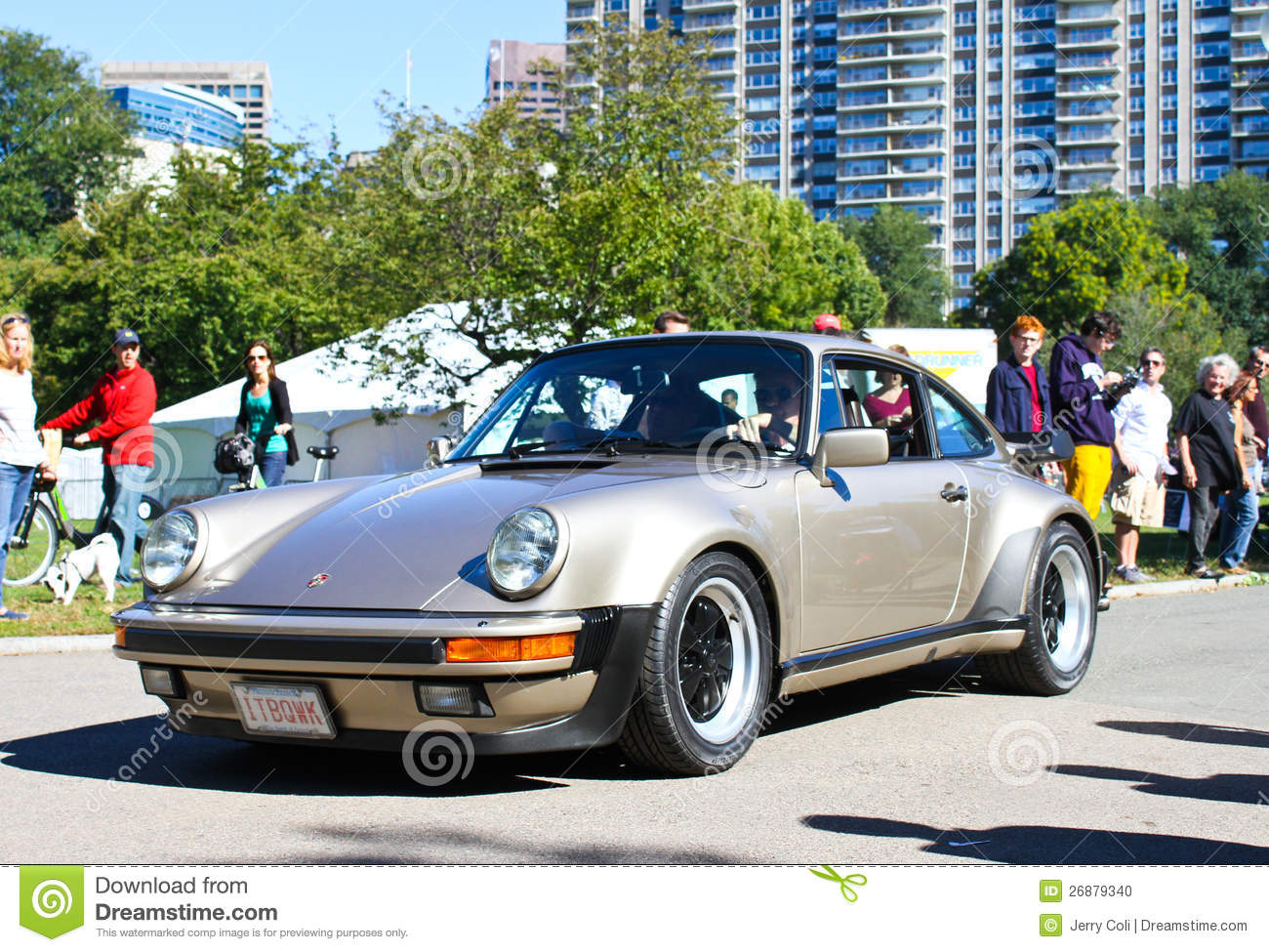 Vintage Porsche Sports Car. Editorial Image  Image: 26879340