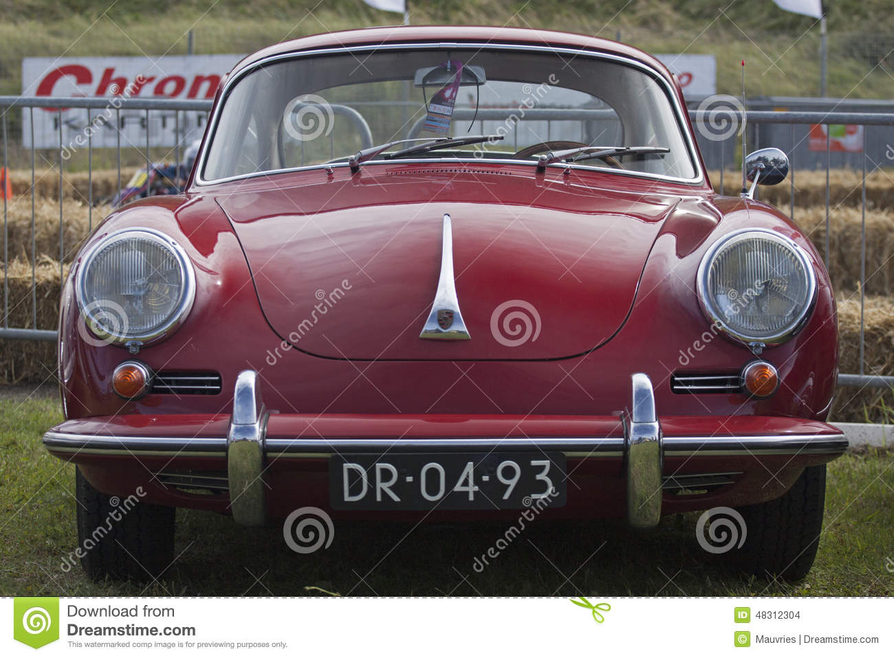 Vintage Porsche Sports Car. Editorial Stock Image  Image: 48312304
