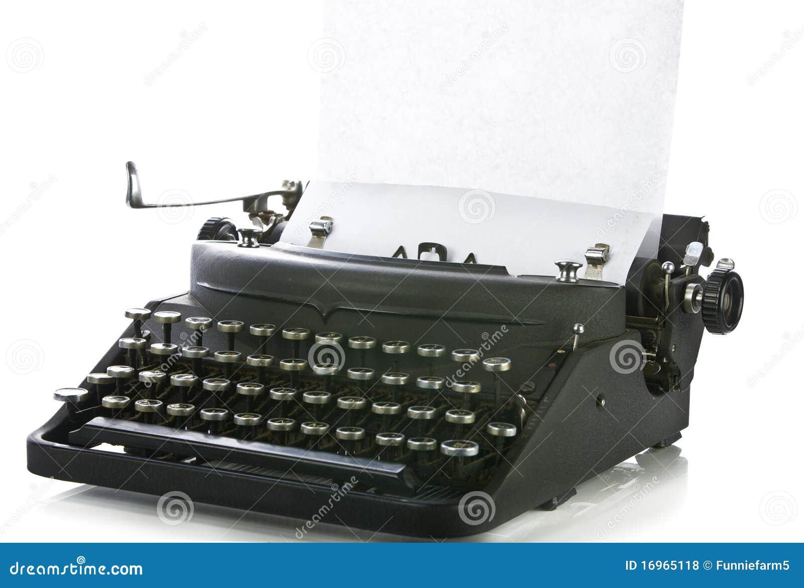 Vintage typewriter paper | Etsy