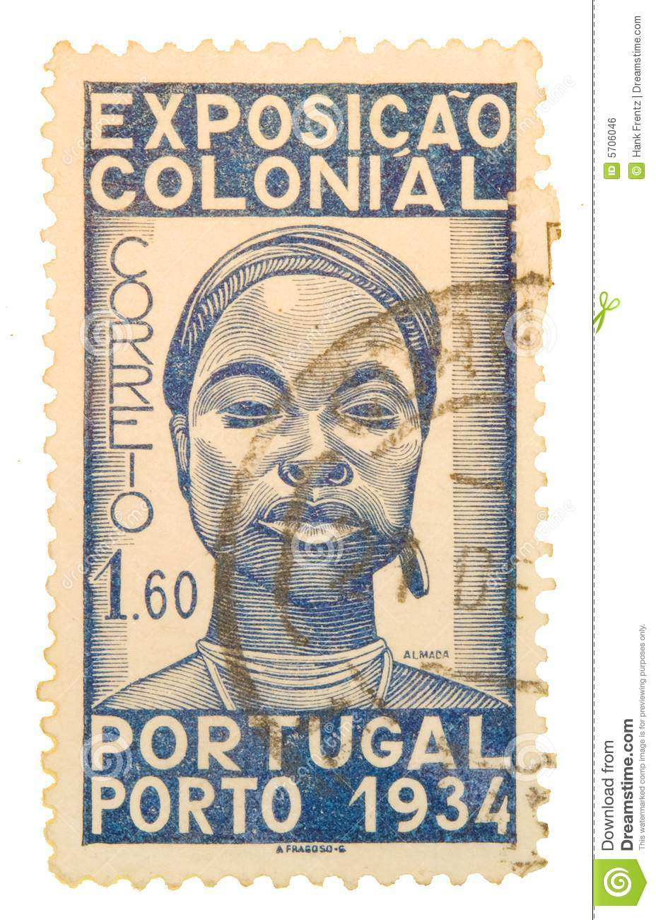 Hot.This vintage postage stamp little