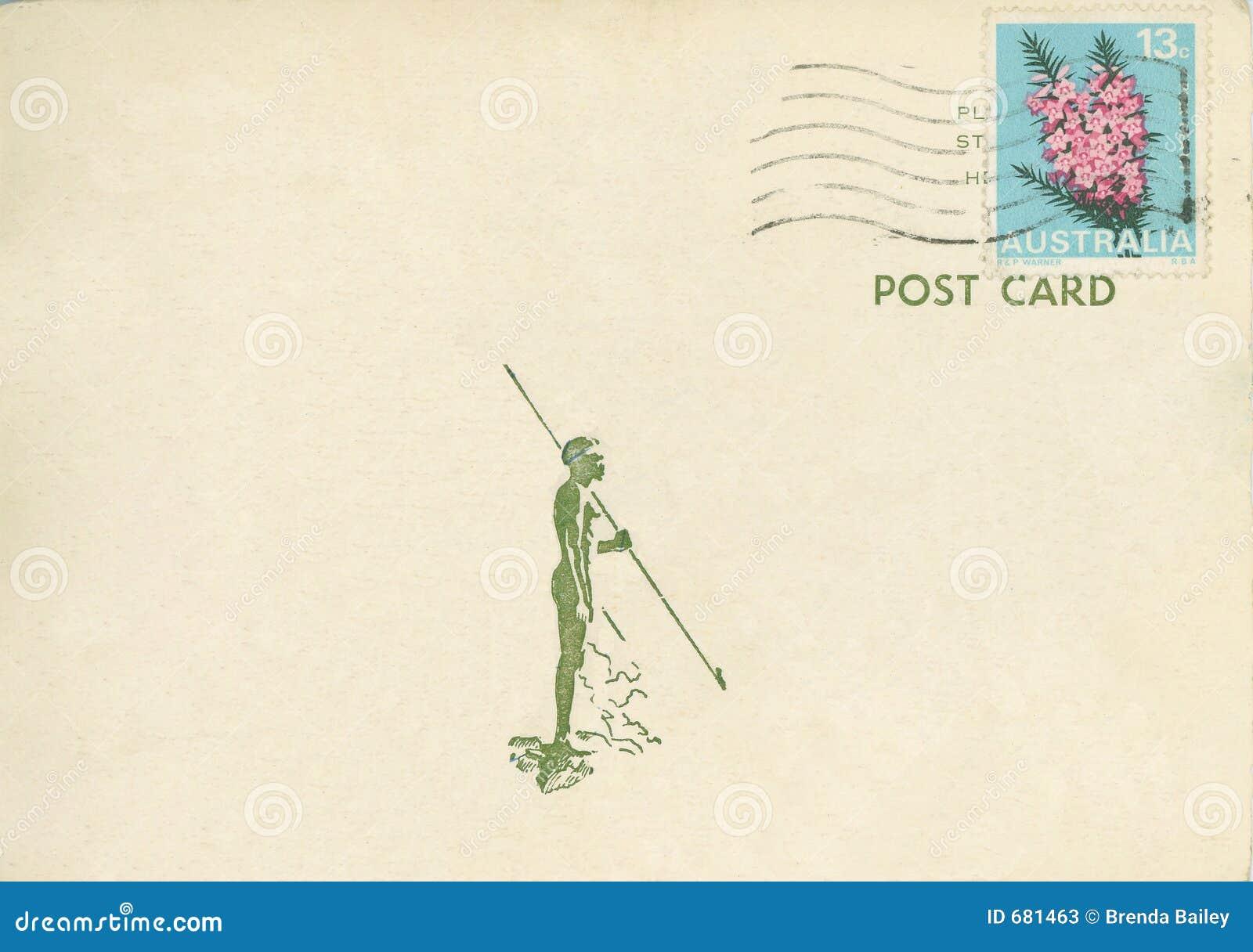 Vintage Postcard Australia Stock Photos - Image: 681463