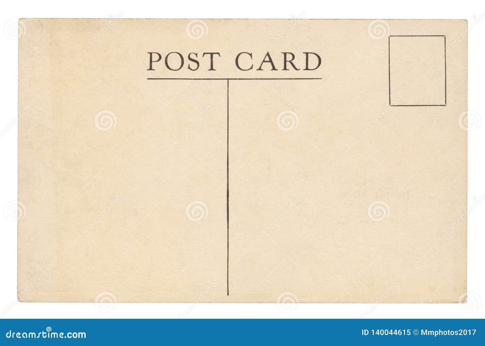 Vintage Postcard - isolated