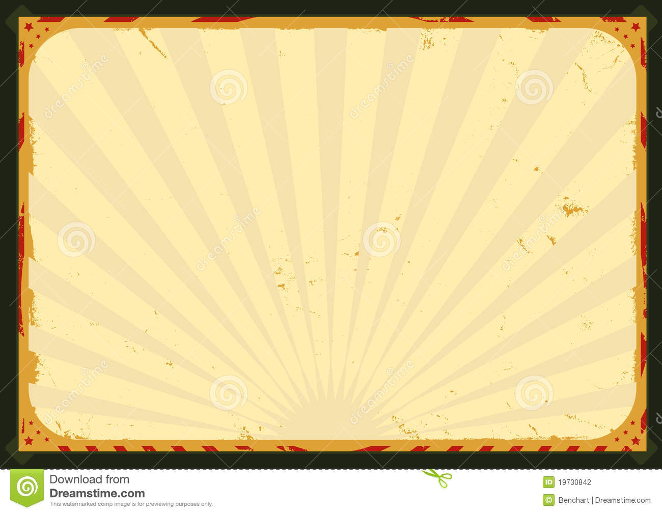 Illustration of an horizontal poster background for your advertisement ...