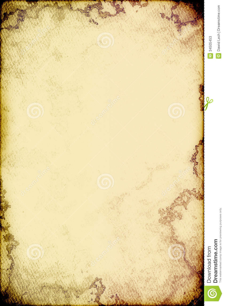Vintage Poster For Background Stock Photos - Image: 34505453