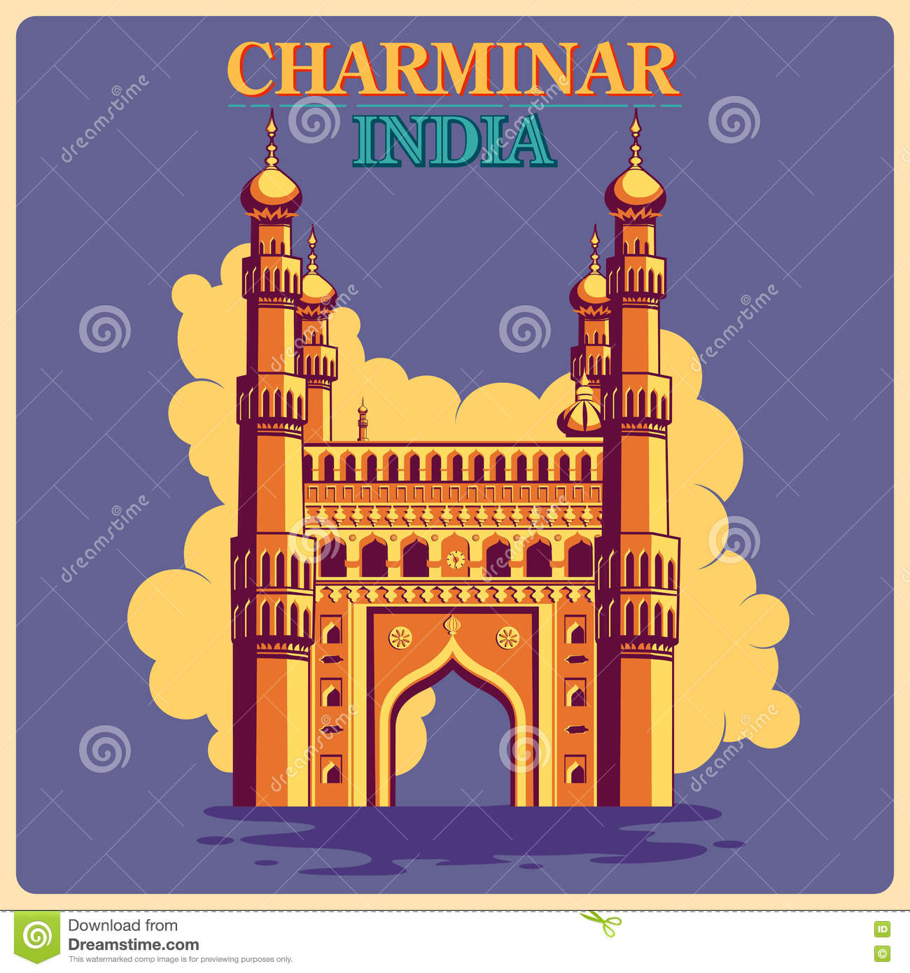 charminar hyderabad  india royalty