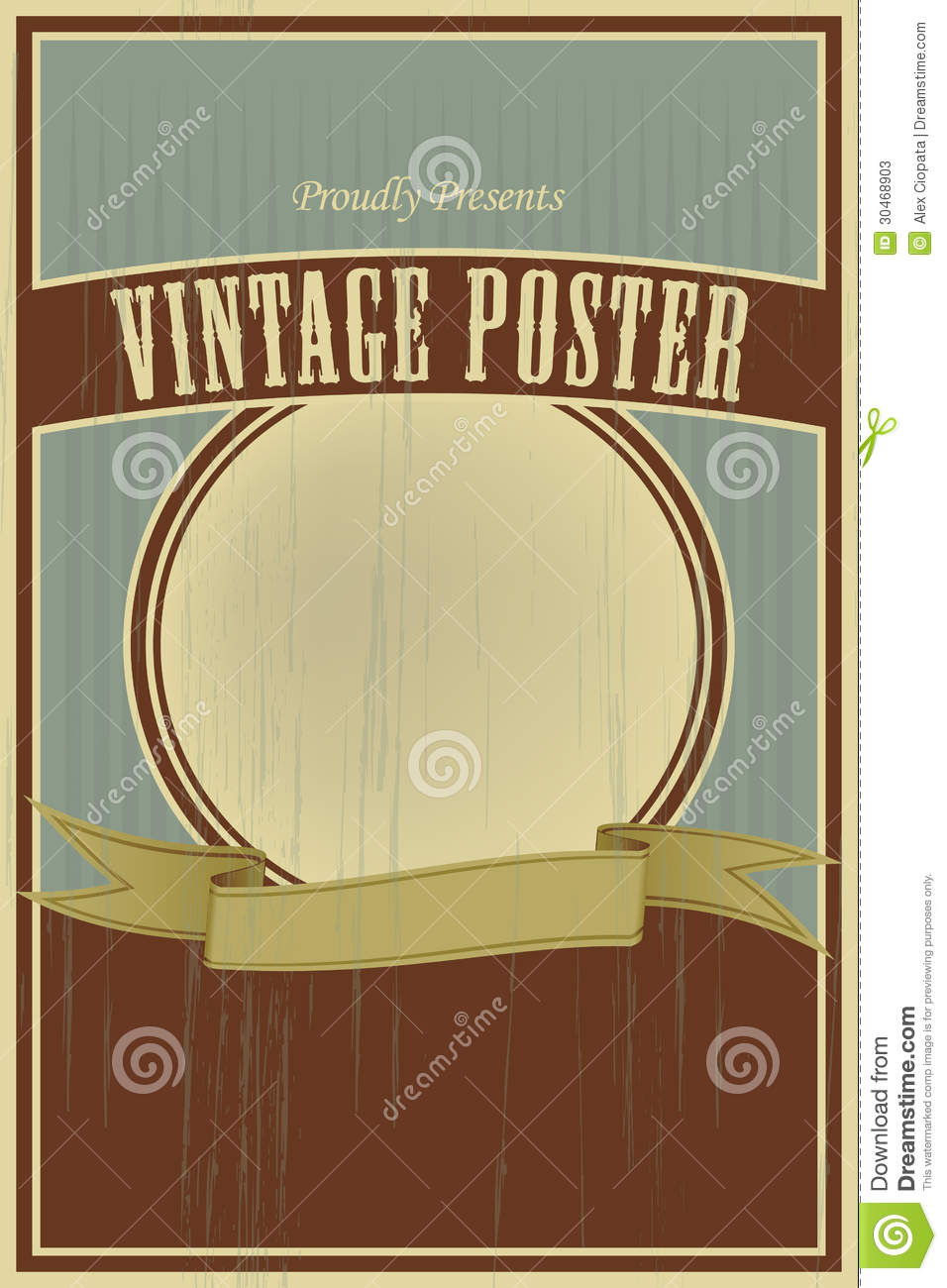 Vintage poster template wwwimgkidcom the image kid has it for Old poster template
