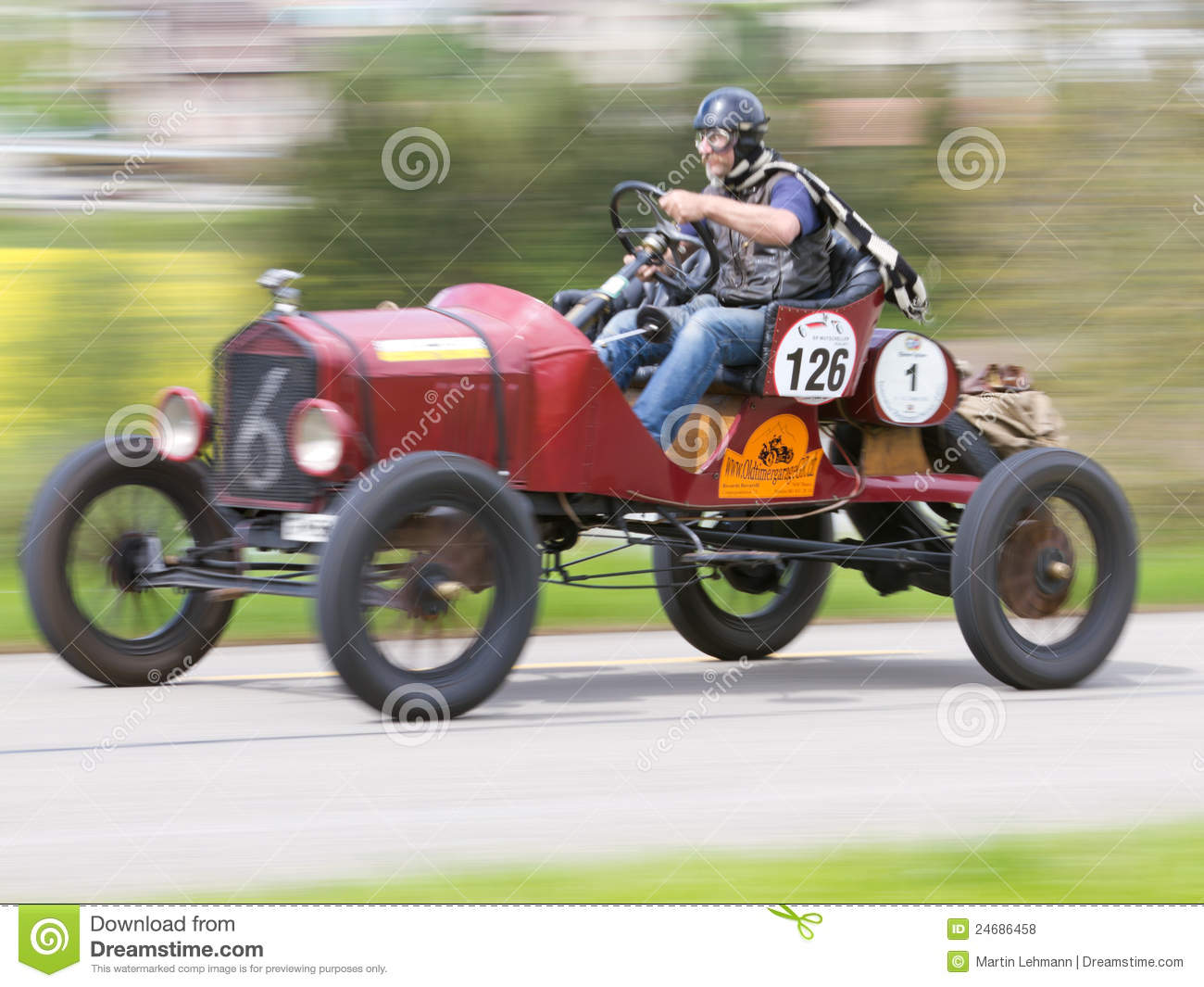 Vintage Race Car Editorial Stock Photo Image