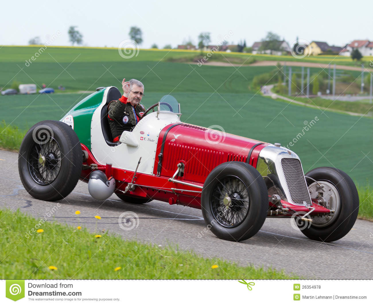 Vintage Pre War Race Car Maserati Editorial Stock Photo Image