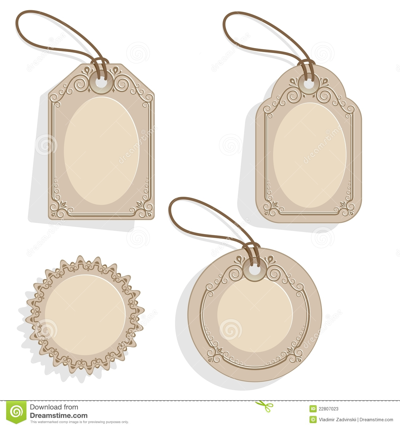 Pin Blank Price Tag Template on Pinterest