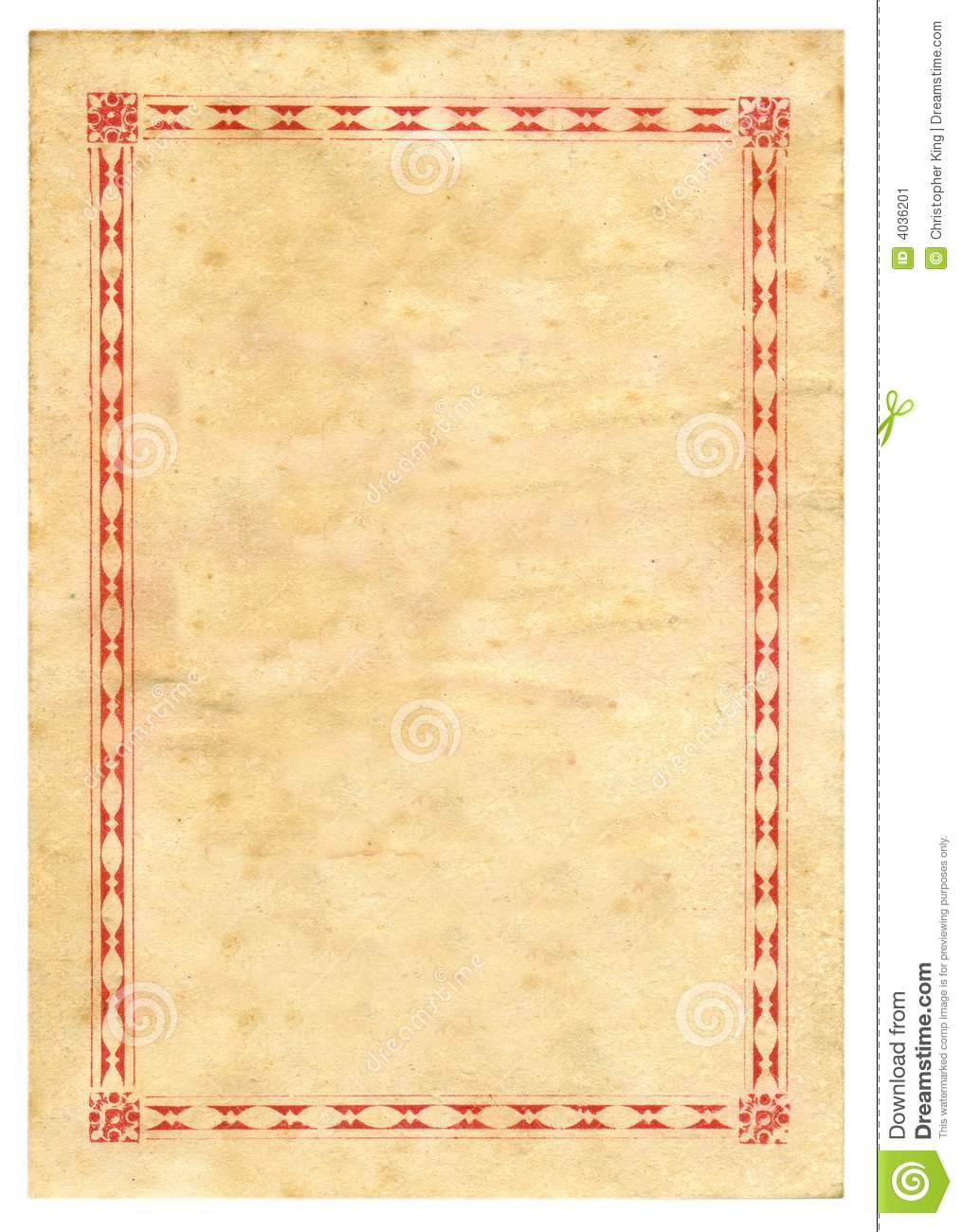 Vintage Prize Certificate Paper Texture Background Stock Image - Image ...