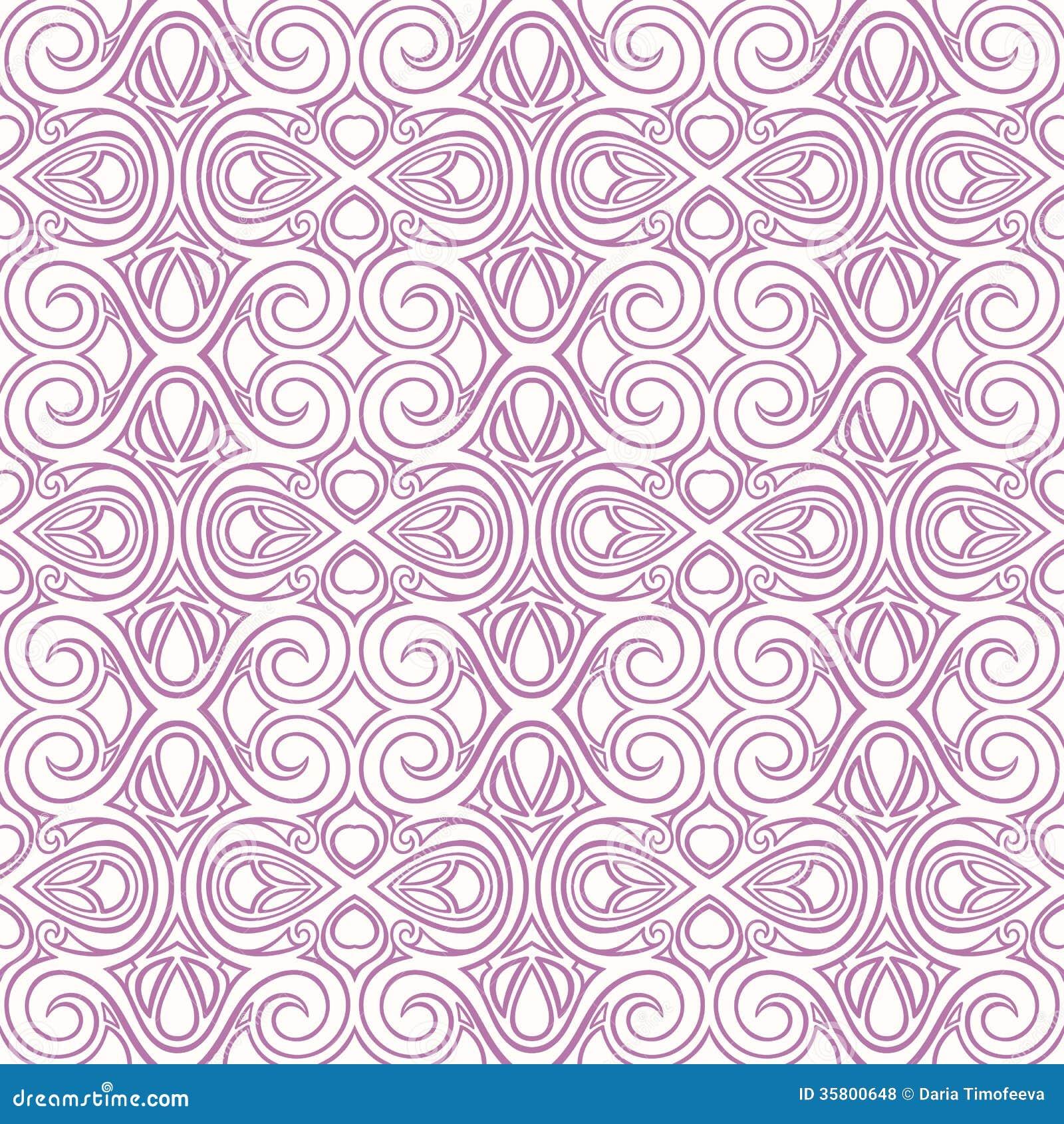 Vintage purple pattern...