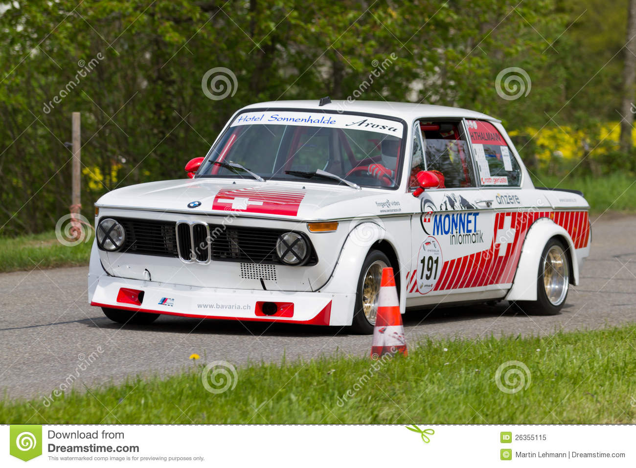 Bmw 2002 Tii Race Car >> Vintage Race Touring Car BMW 2002 Tii From 1972 Editorial ...