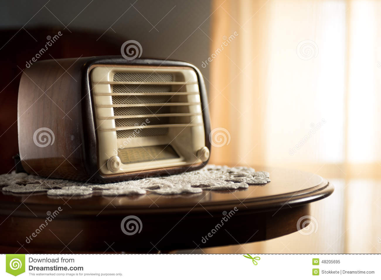 living room radio vintage radio in the living room stock image image of 11616
