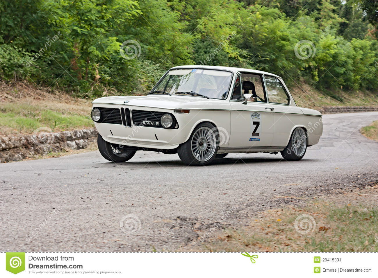 Vintage rally car BMW editorial photo. Image of racing - 29415331