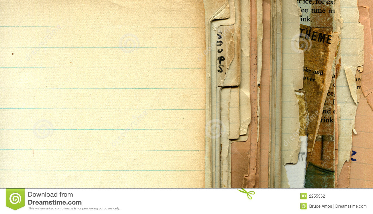 vintage recipe pages stock photo image of pages cookie 2255362