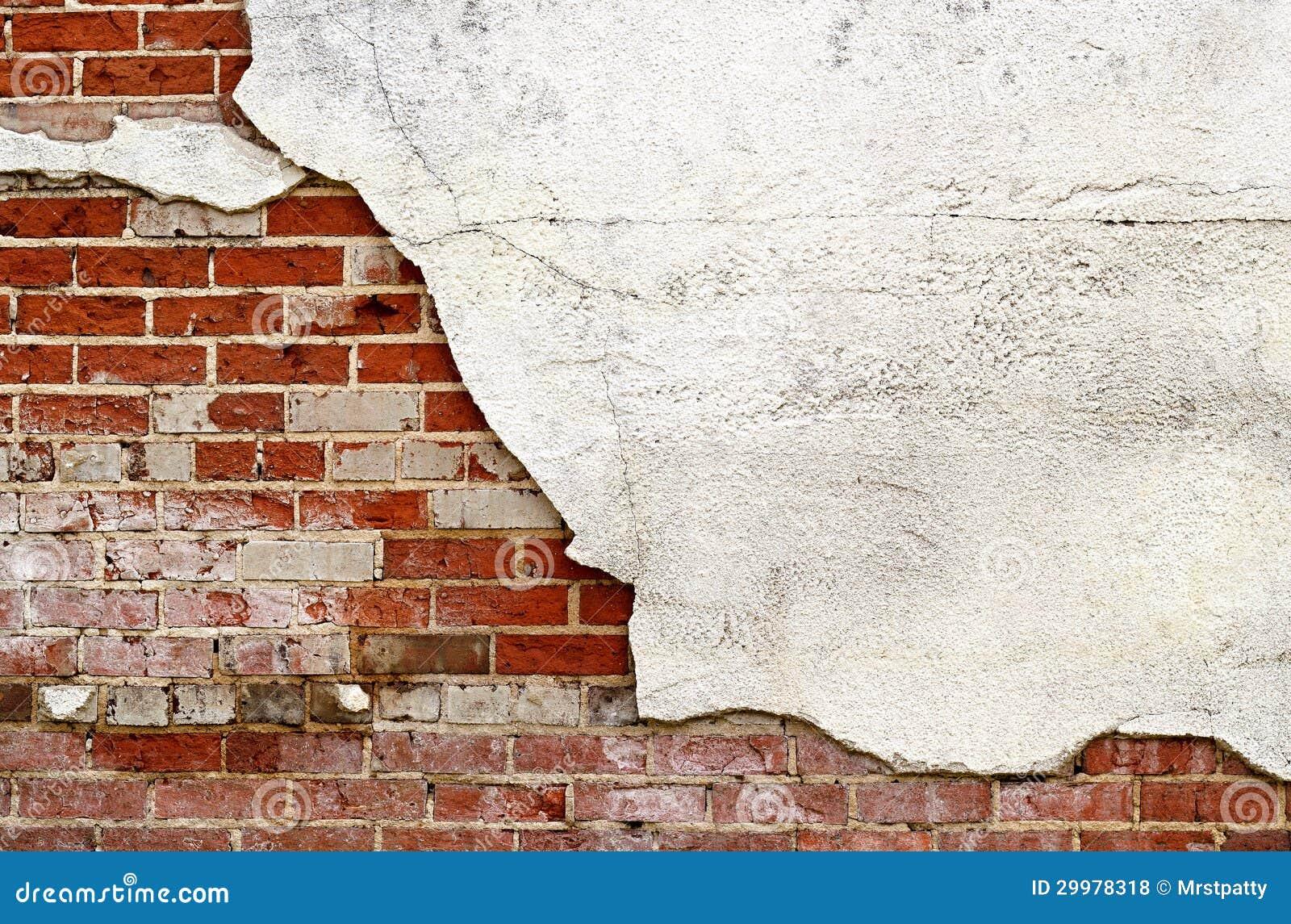 Brick And Stucco Wall Royalty Free Stock Photos Image 29978318