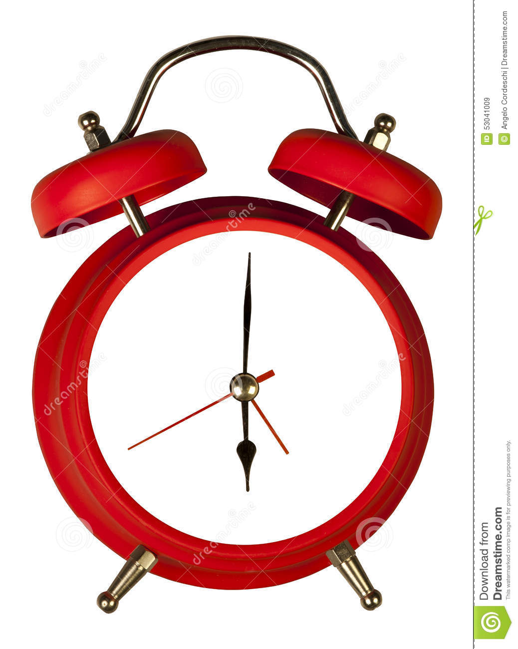 Old Fashioned Clock Numbers
