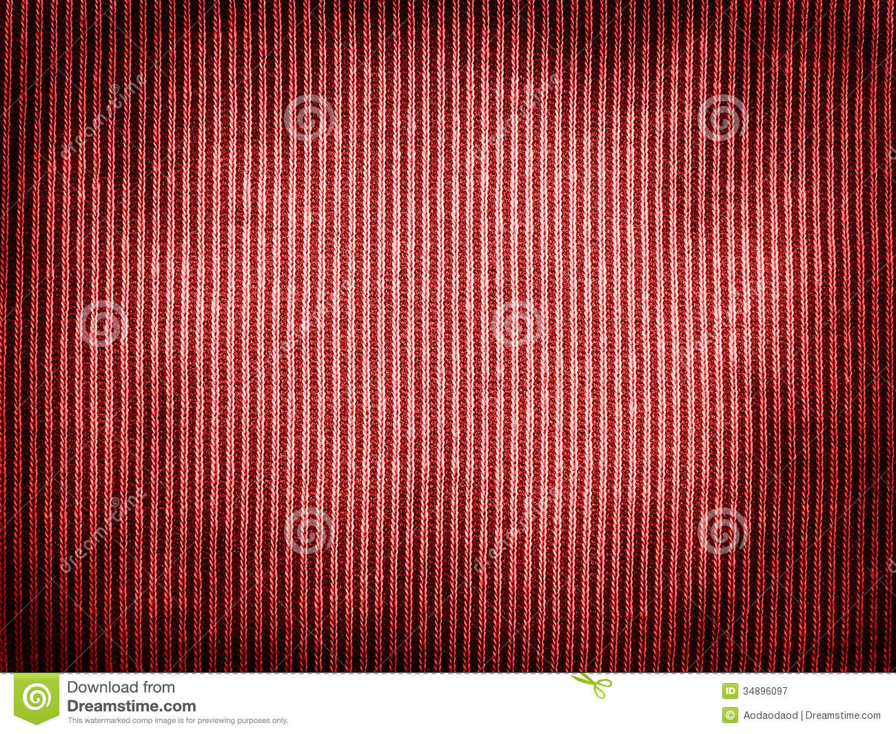Vintage red fabric texture