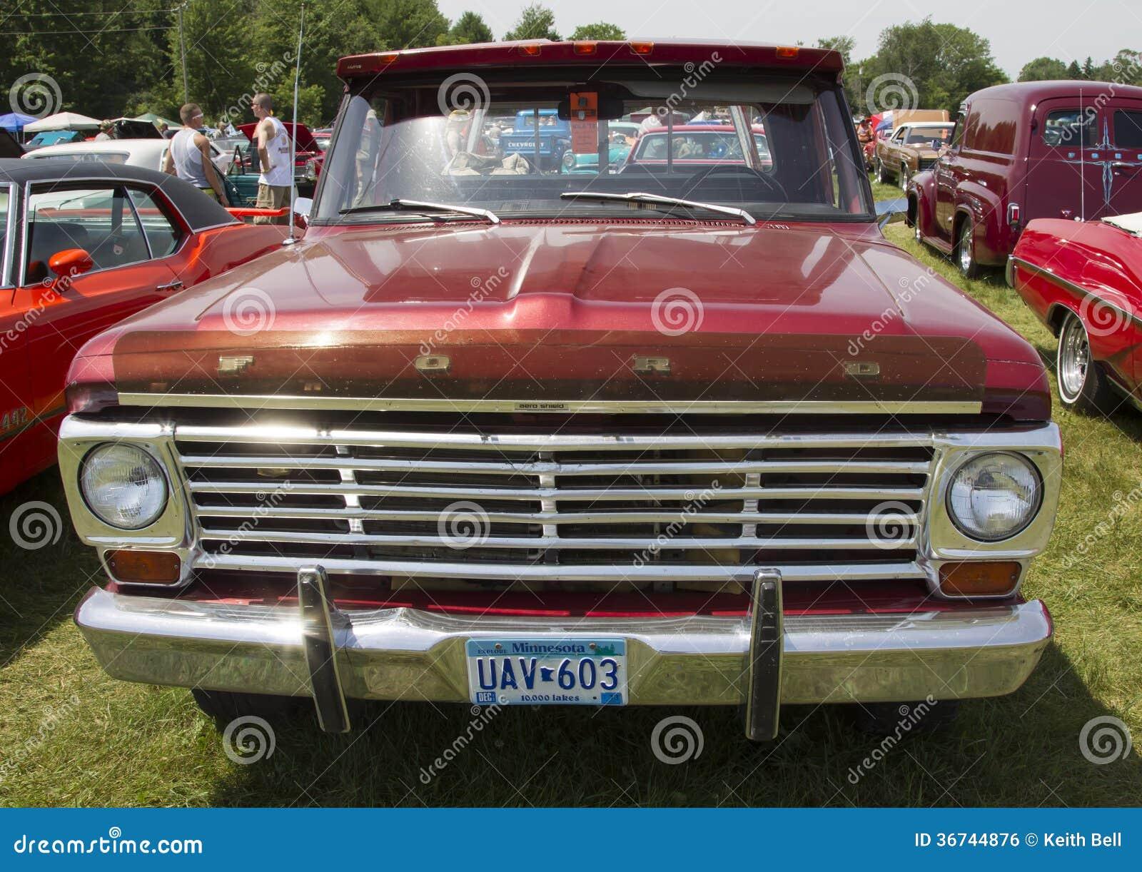 Have Vintage ford pick up
