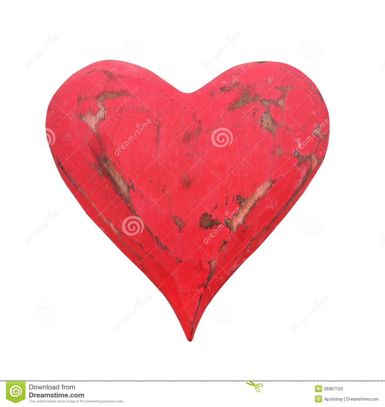 Vintage Red Heart 75