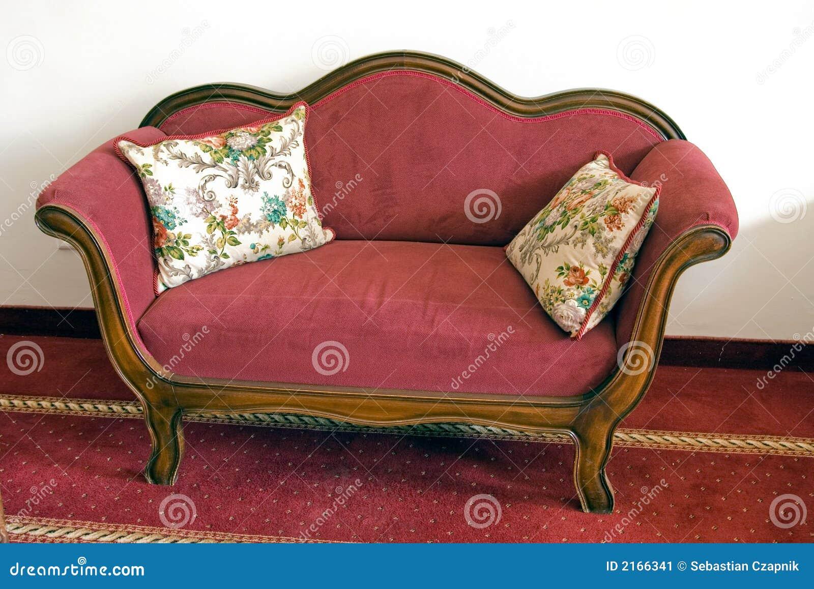 vintage red sofa - Vintage Sofa