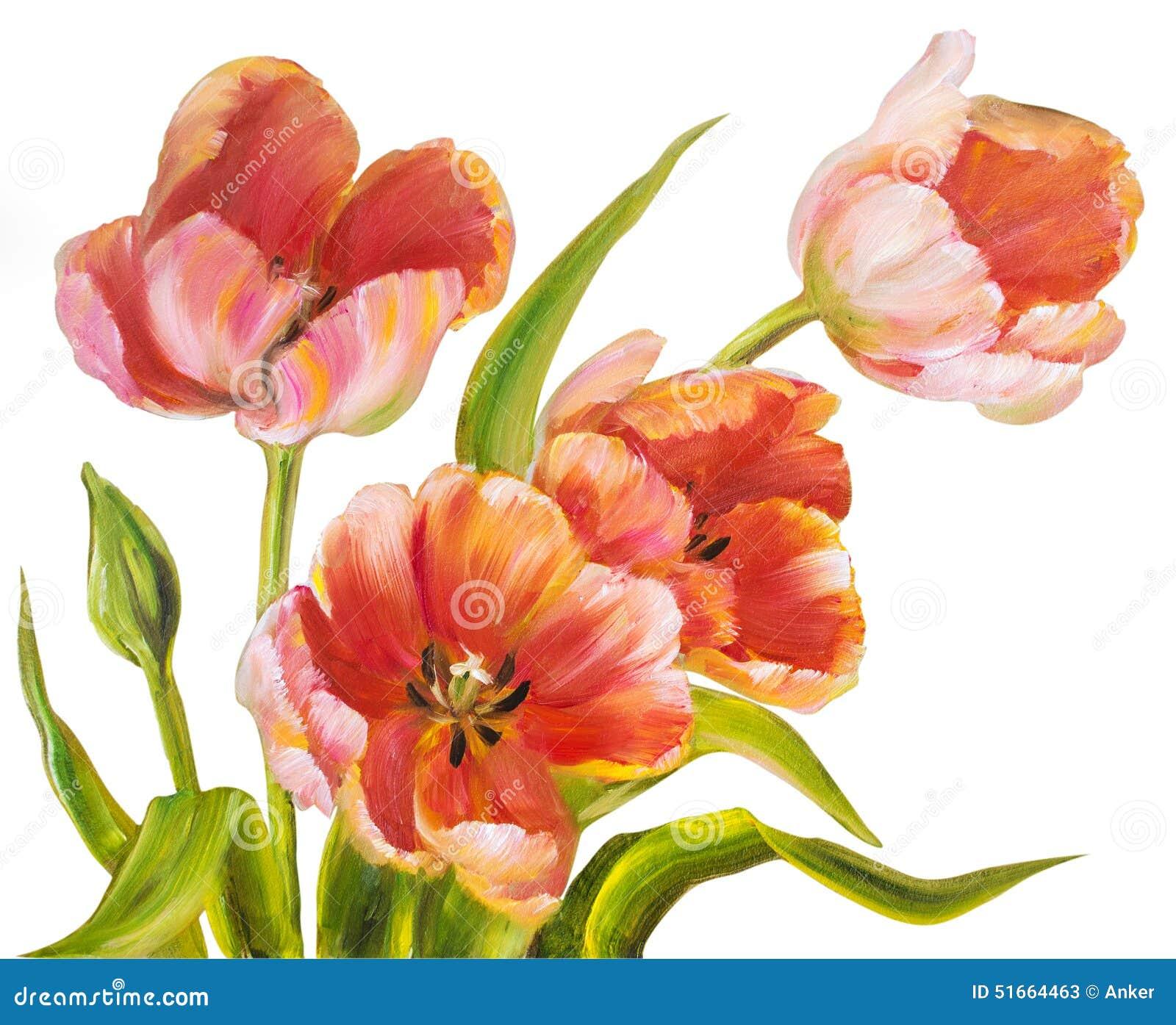 Vintage Tulips 66