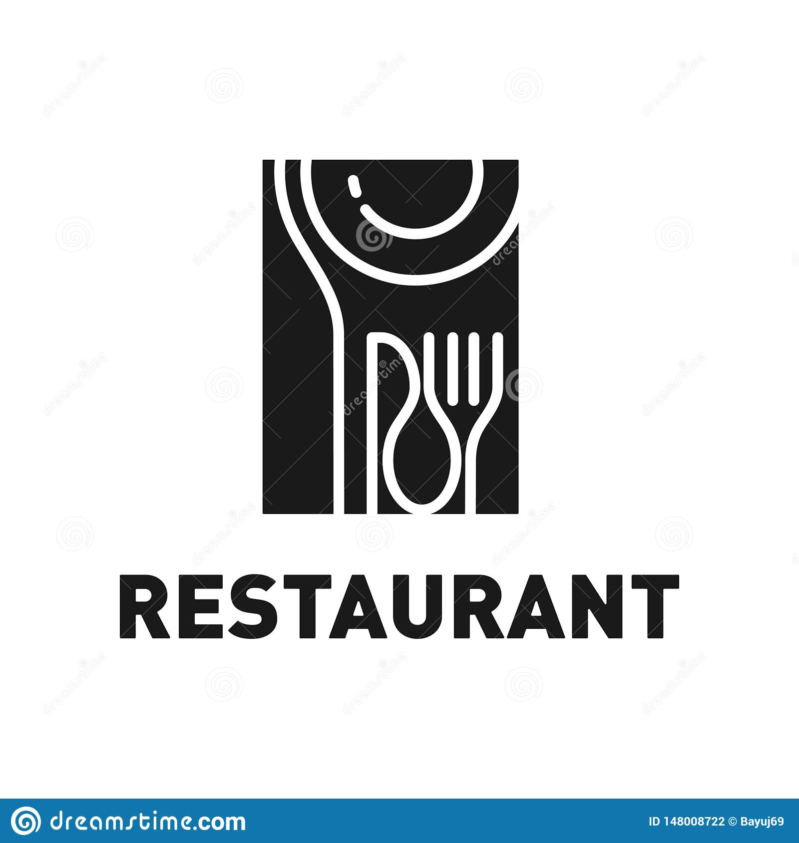 Vintage Restaurant Logo Design Inspiration Stock Vector Illustration Of Knife Design 148008722
