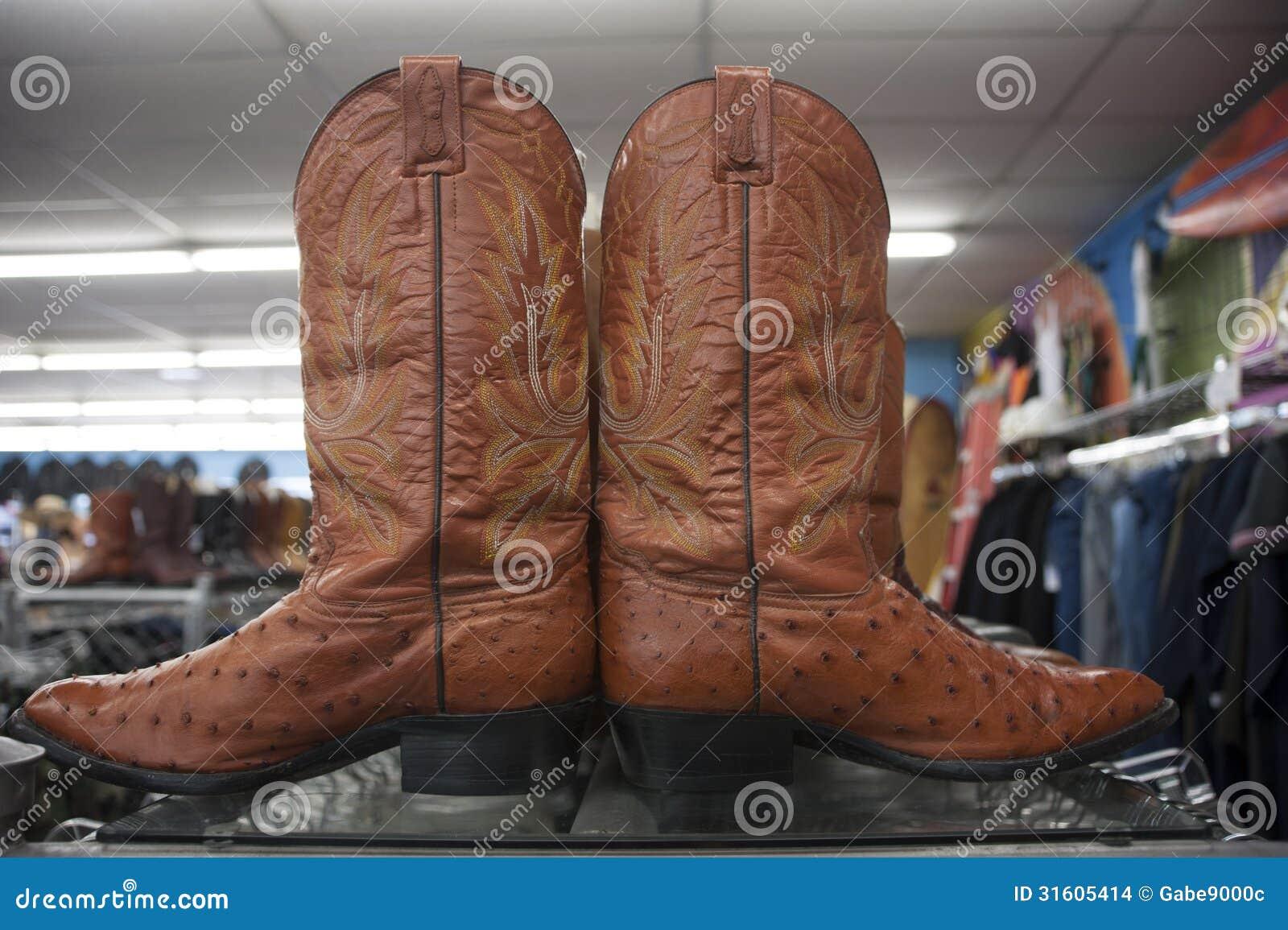 c4343d23517 Vintage retro cowboy boots stock photo. Image of shoe - 31605414