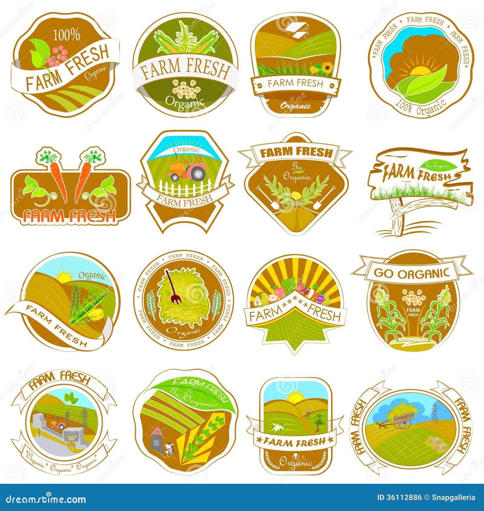 Free Printable Farm Food Labels