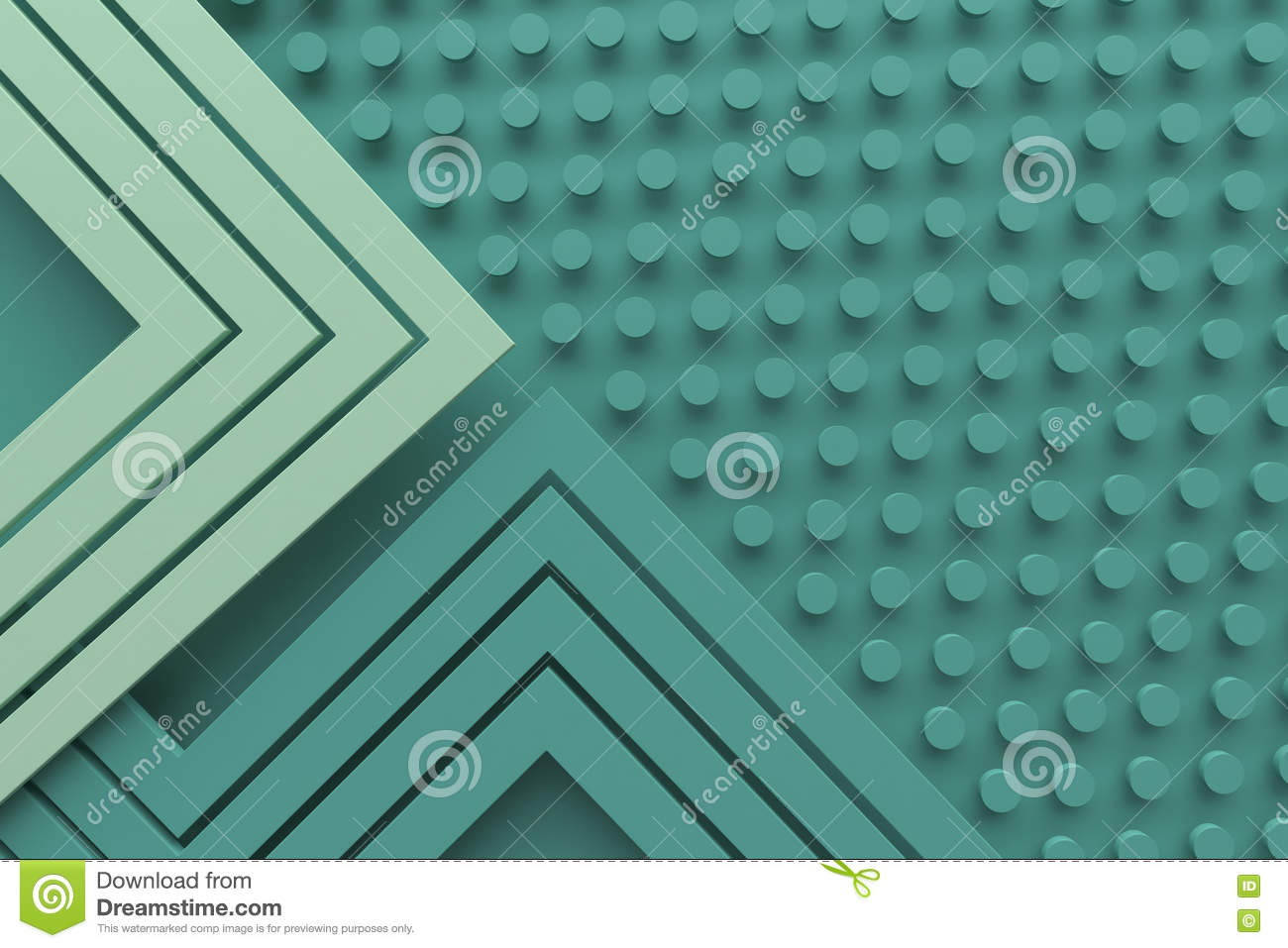 Vintage retro green teal color pattern background line and dot 3