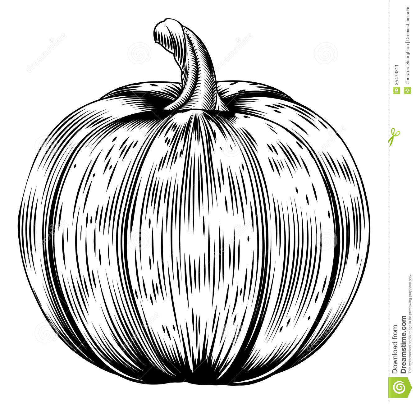 vintage pumpkin clip art - photo #21
