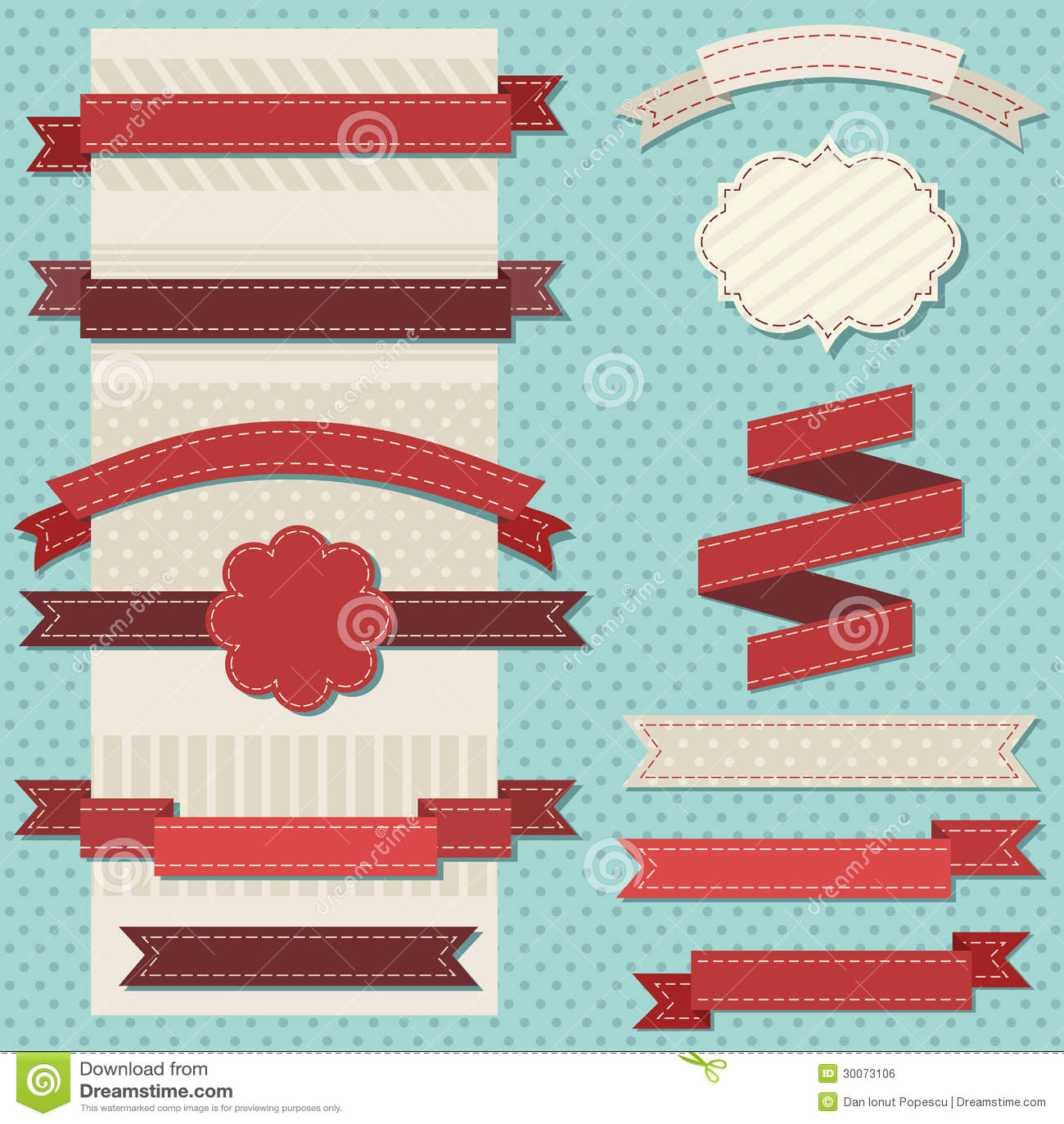 Vintage ribbons