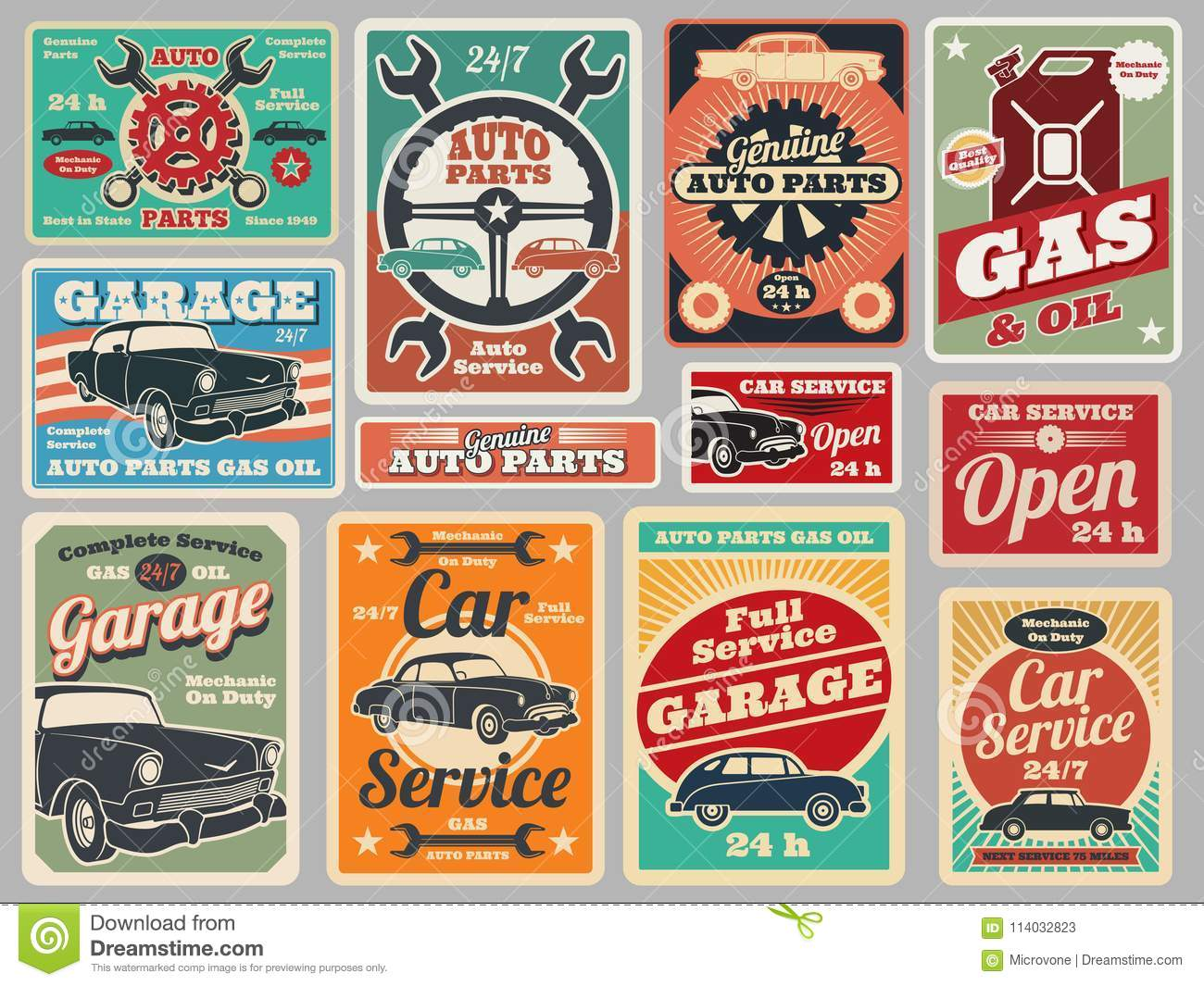 Garage Cartoons, Illustrations & Vector Stock Images
