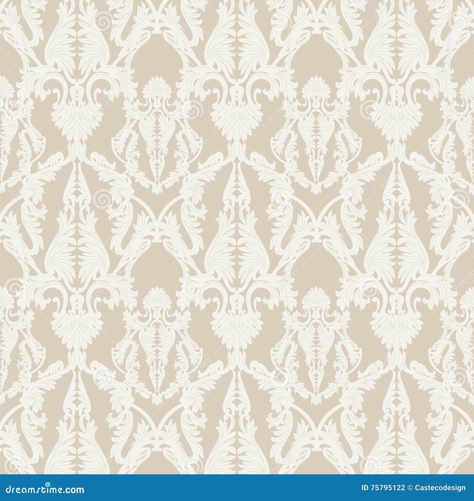 rococo motif vintage floral - photo #23
