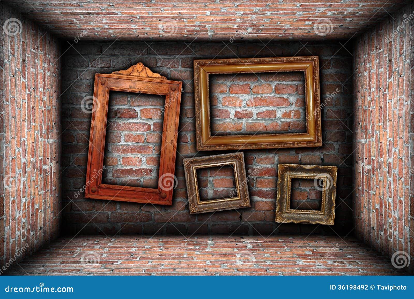 Antique Wood Picture Frames