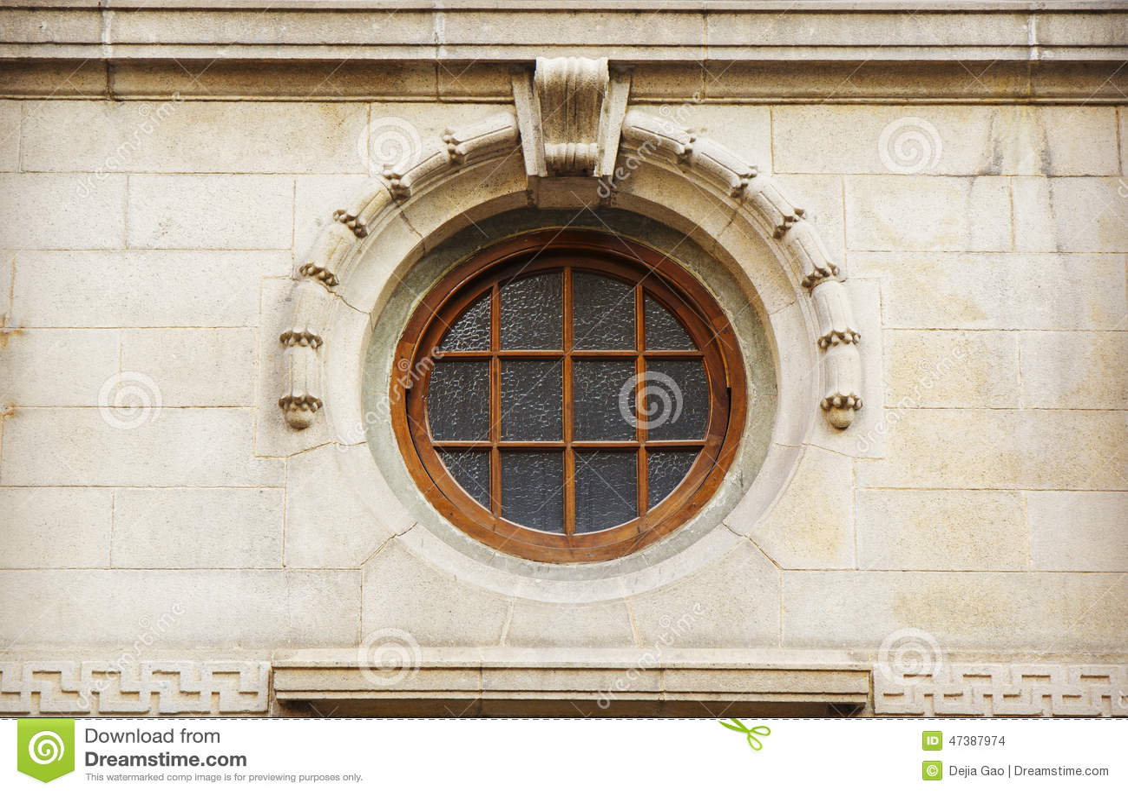 Round window stock photo 89009844 for Round window design