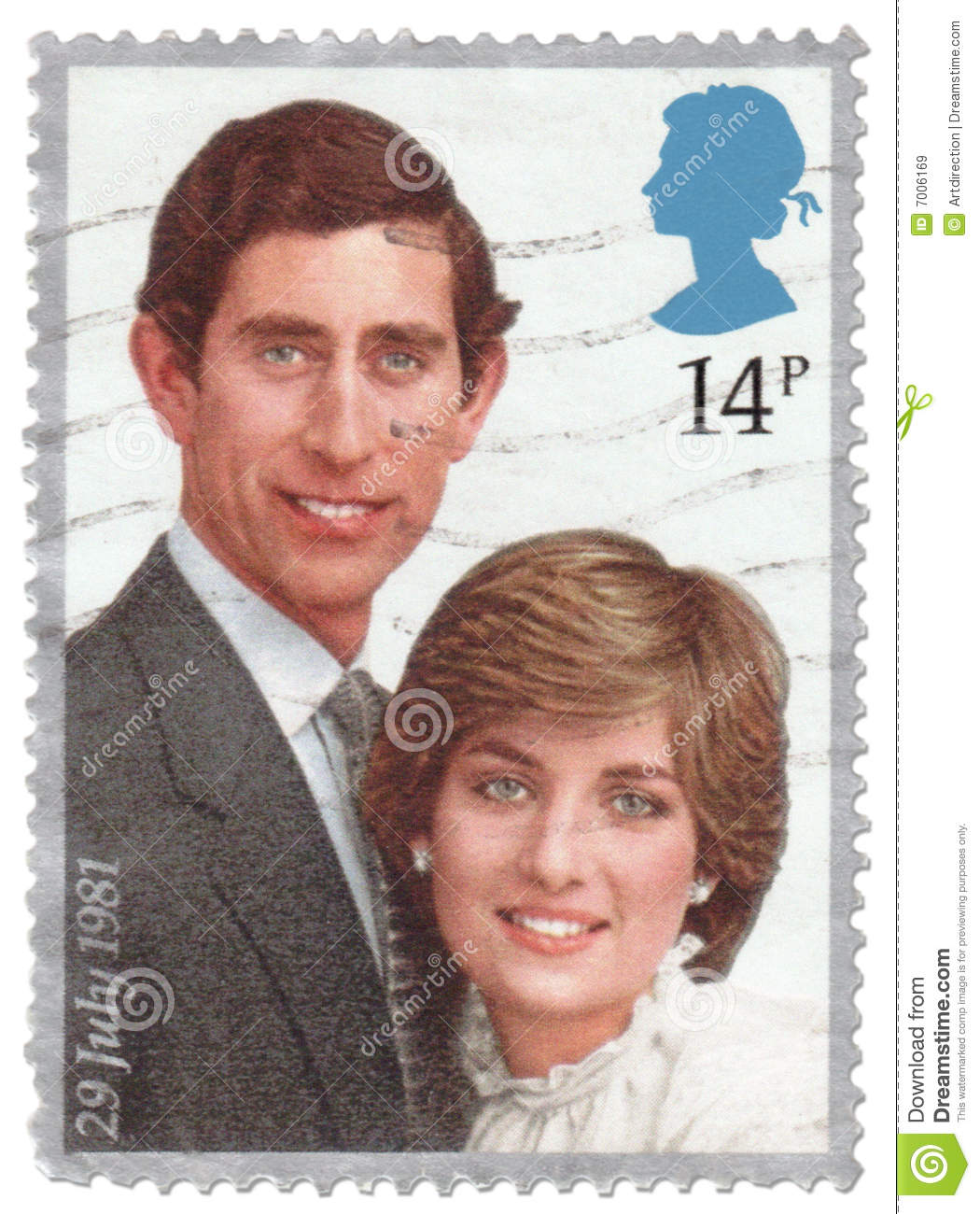 royalty free stock images vintage royal wedding stamp image wedding postage stamps Vintage Royal Wedding Stamp Editorial Stock Image