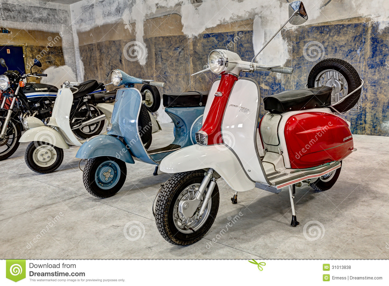 Vintage Scooters Lambretta And Vespa Editorial Stock Photo ... Lambretta Scooter Vintage
