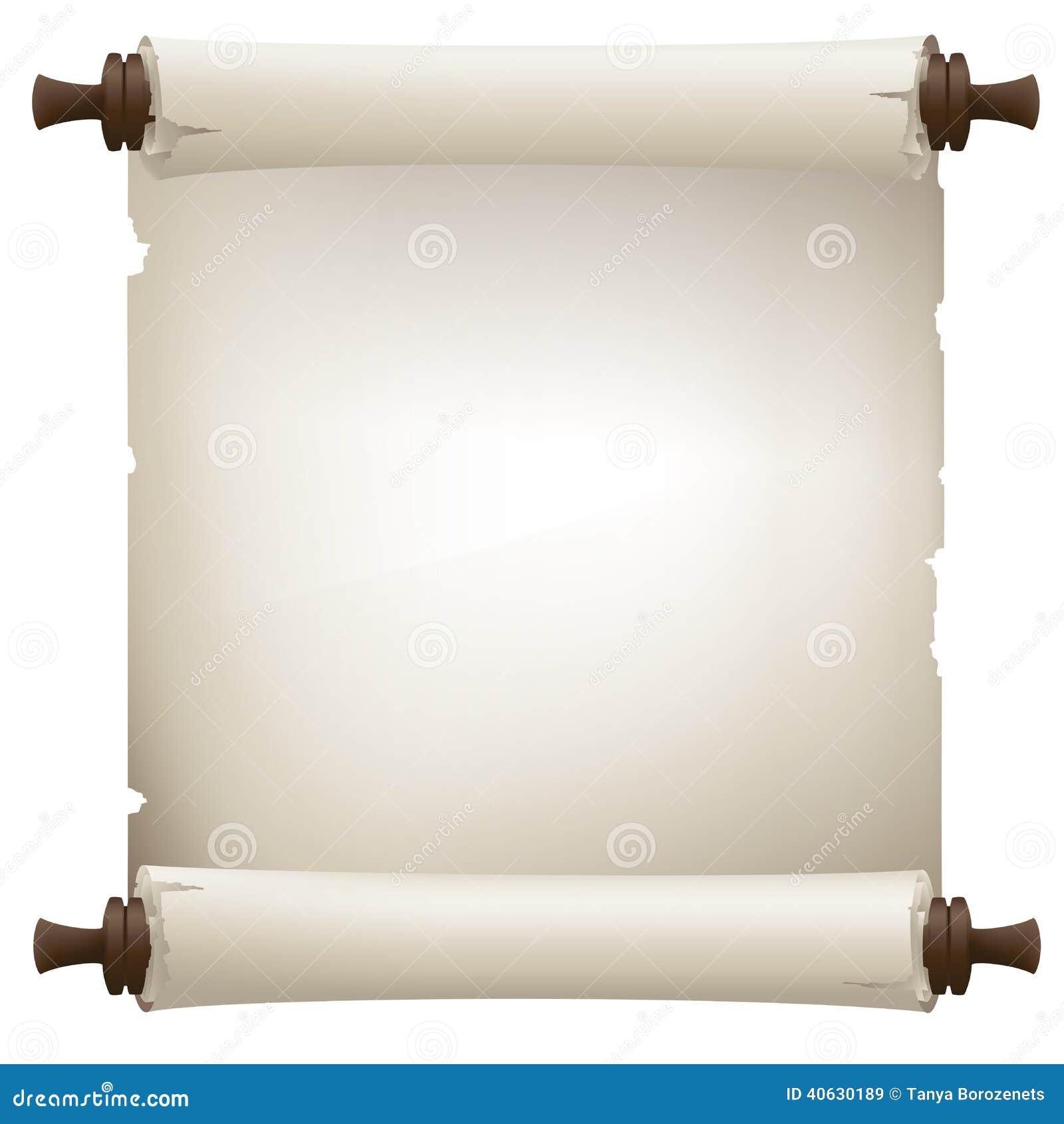 Vintage Scroll Banner Stock Vector - Image: 40630189