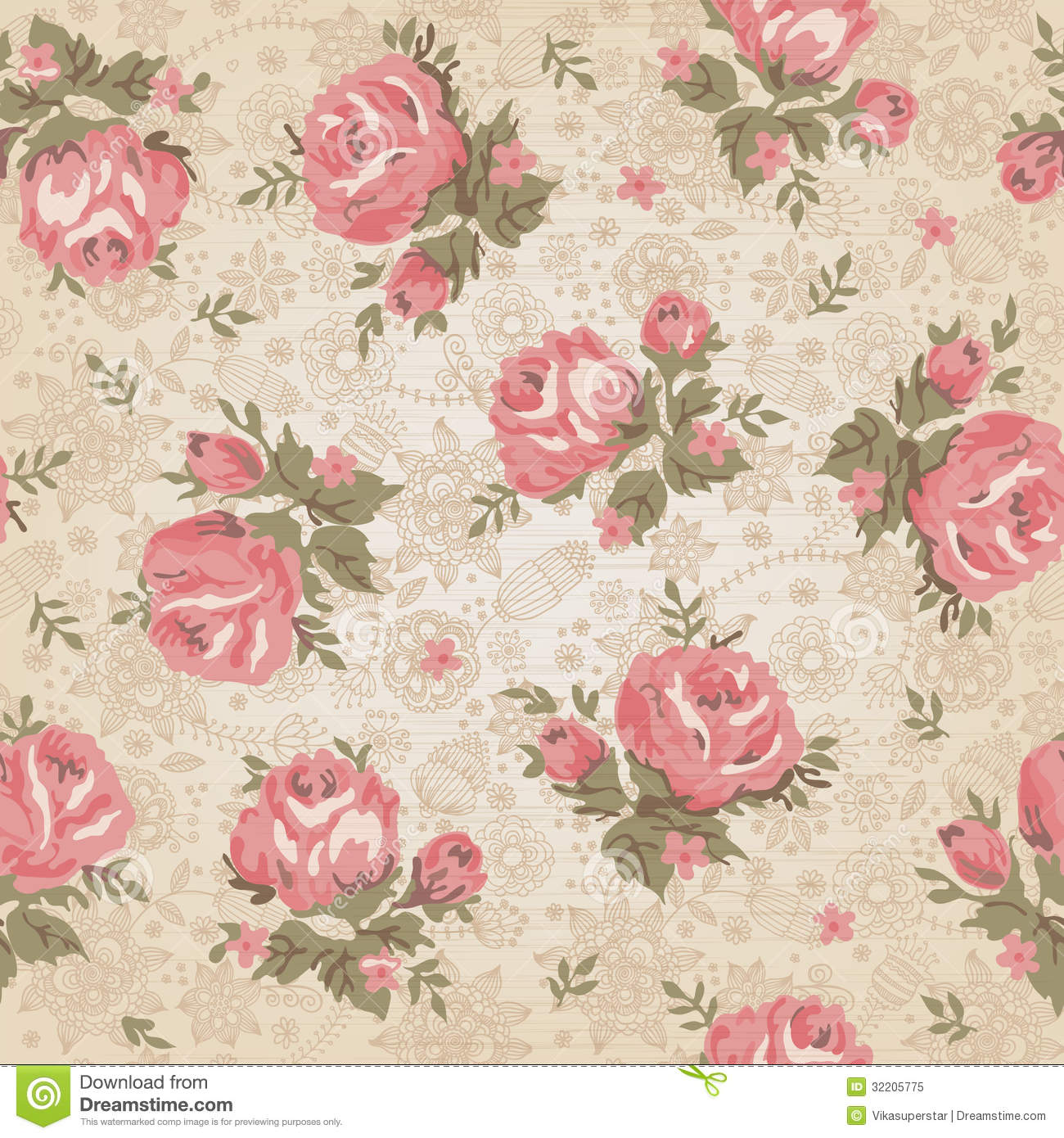 Floral Pattern Stock Photos, Images, & Pictures - 696,051 Images
