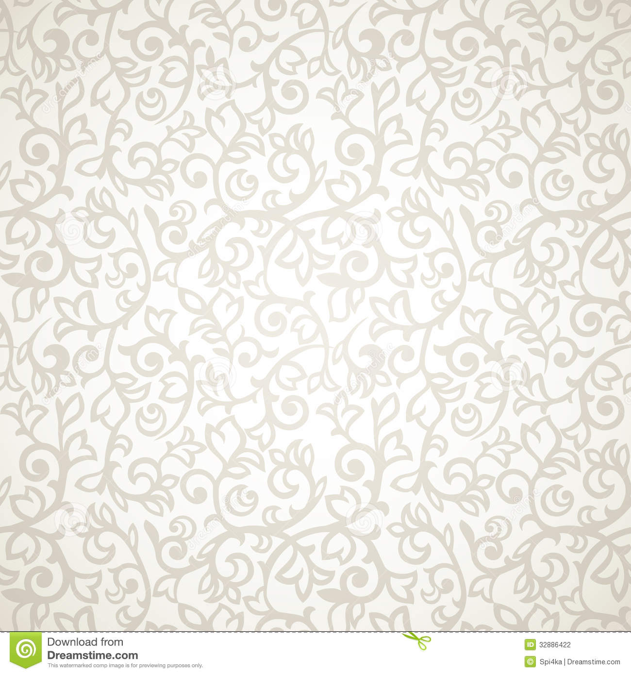 Vintage Seamless Pattern Stock Photography - Image: 32886422