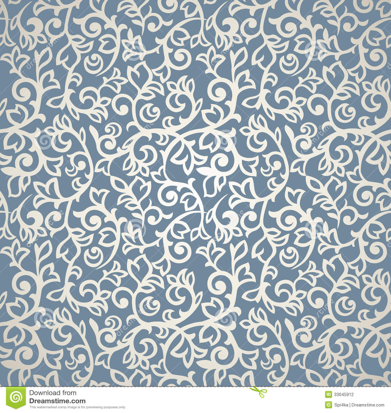 Vintage Seamless Pattern stock vector. Illustration of ...